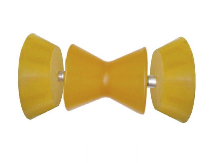 Rodillo doble cono con tapas cónicas 95 mm