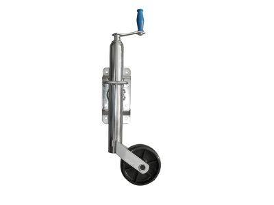Rueda timonera regulable rebatible rueda plástica