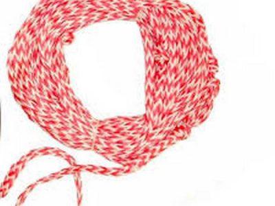 Cuerda de arrastre para juegos chicos.