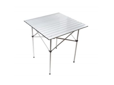 Mesa plegable 100% aluminio 100x70x70 cm