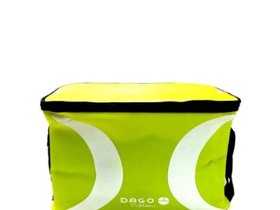 Bolso Impermeable Tapa Flexible  Amarilla