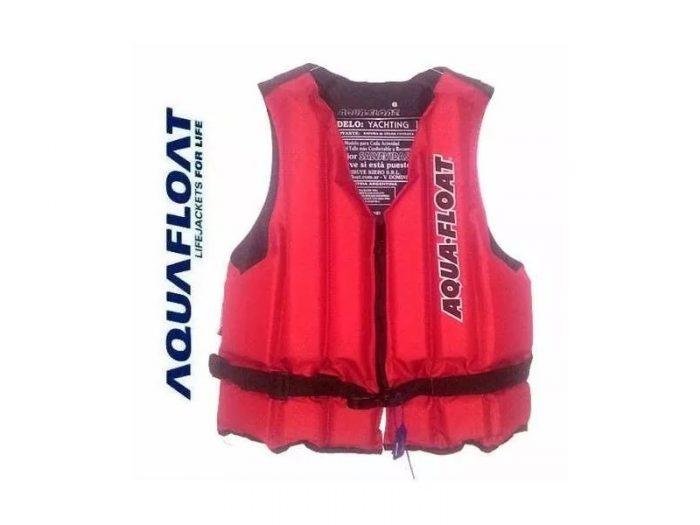 Chaleco Salvavidas Aquafloat Yachting C/ Bolsillo Talle 8
