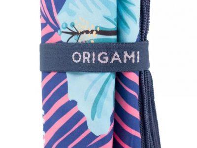 Toalla Microfibra Estampada 1.60 x 0.80 Origami