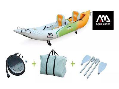 Kayak Betta inflable para 2 personas