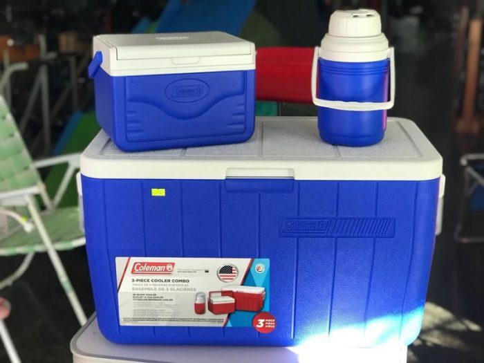 Conservadora Combo 48QT+5QT+Termo 1.2 Litros Azul Coleman