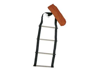 Escalera para colgar, escalones de Inox