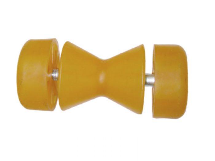 Rodillo doble mini cono c/tapas redondas 85 mm