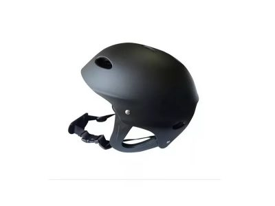 Casco wake negro talle L 56-62 cm con protector de orejas