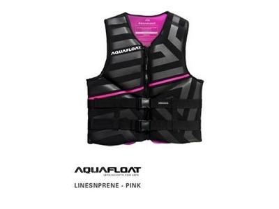 Chaleco Salvavidas Aquafloat Linesnprene Pink Talle L