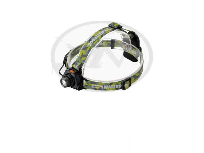 Linterna Led Minero Con Zoom Waterdog