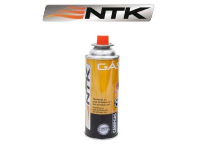 Cartucho de gas descartable aerosol  NTK