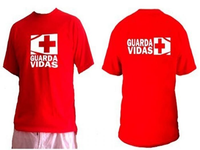 Remera roja Guardavidas Unisex KA-EME-I