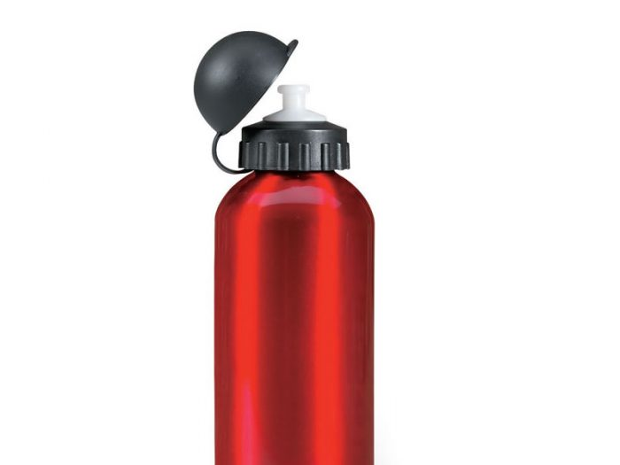 Botella aluminio 750 cc  c/pico bebedor Waterdog
