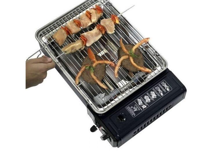 Anafe con plancha y grill Magus NTK
