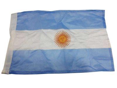 Bandera Argentina 20x30cm