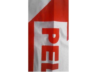 Bandera Precaución 50×70 cm