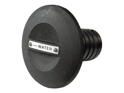 Tapa tanque o boca de carga negra plástica Lalizas