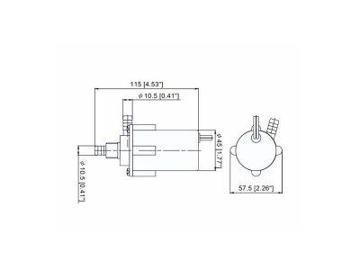 Bomba de Agua No Automática 6.6 LPM TMC