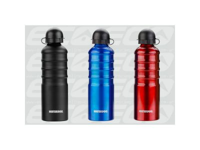 Botella aluminio 500 cc  c/pico bebedor Waterdog