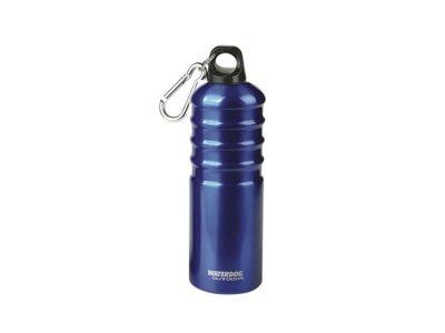 Botella aluminio 500 cc c/mosquetón Waterdog