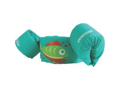 Bracitos piletero flotador pez verde Stearns