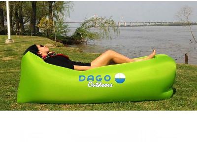 Sillón Brissbag ligth green/blue Dago