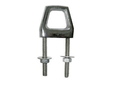 Cáncamo hexagonal 2 vástagos inox D8mm