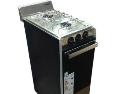 Cocina a Gas 2 Hornallas Horno Brogas