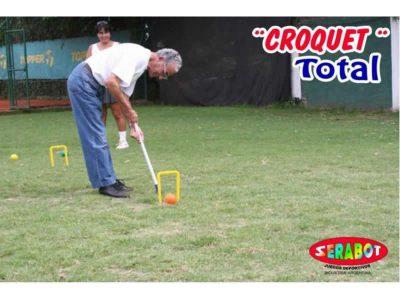 Croquet Total con Dos Martillos Serabot