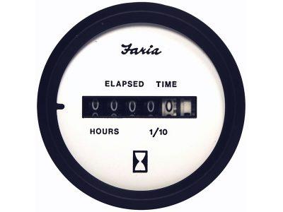 Indicador cuenta horas aro negro Faria