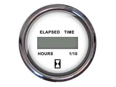 Indicador cuenta horas aro cromado Faria