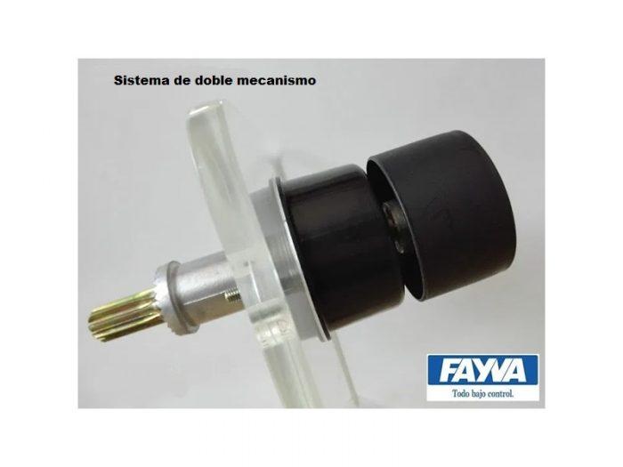 Cuerpo con eje para mecanismo doble fvc 3000 Fayva