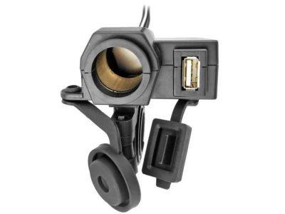 Enchufe/Toma 12-24V con USB y Fijación Five Oceans