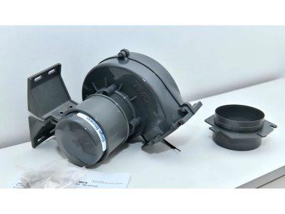 Extractor plástico a turbina TMC lateral 12v