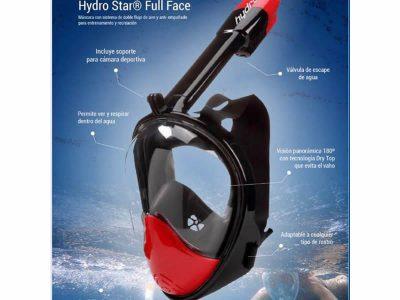 Full Face con Soporte GoPro Hydro