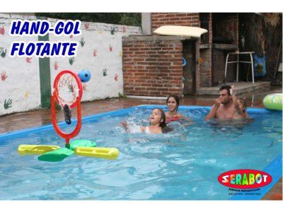 Hand Gol Flotante