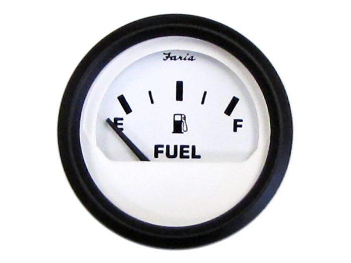 Indicador combustible aro negro Faria