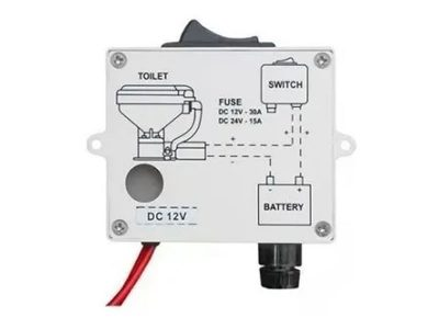 Repuesto base completa inodoro eléctrico TMC