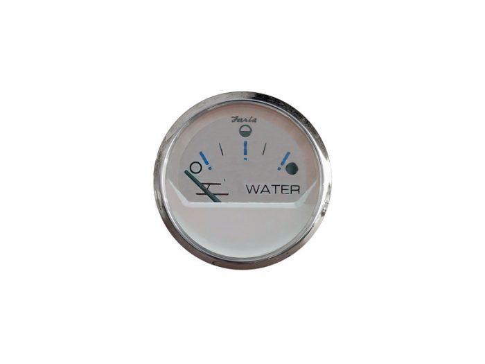 Indicador nivel de agua aro cromado Faria