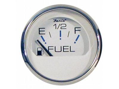 Indicador nivel de combustible aro cromado Faria