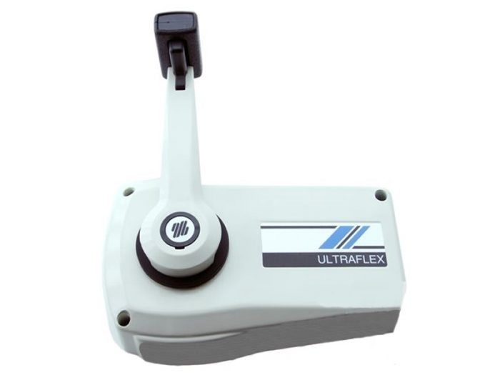 Caja control monocomando blanca Ultraflex