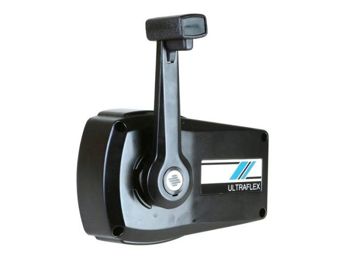 Caja control monocomando negra Ultraflex
