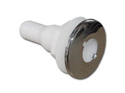 Pasacasco plástico aro inox 19 mm 3/4″ Seachoice