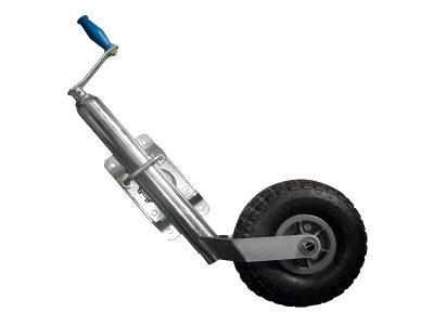 Rueda timonera regulable rebatible rueda inflable