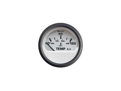 Indicador temperatura de agua aro negro Faria