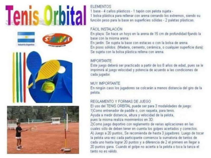 Tenis Orbital Serabot