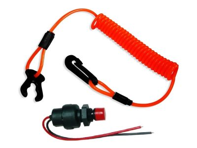 Corta corriente completo espiral con 2 cables Herby