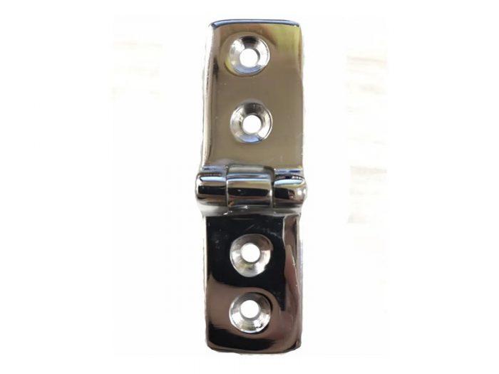 Bisagra bronce cromado back to back corta 4 agujeros Herrcarr