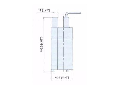 Bomba de Agua No Automática 100 GPH Sumergible Five Oceans