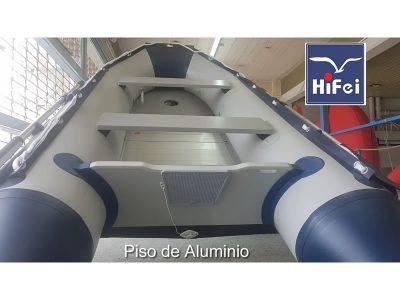 Bote PVC piso de aluminio 3.20m Hi-Fei